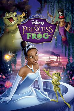 The Princess and the Frog movie poster.