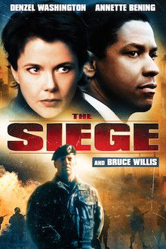 Poster for the movie The Siege