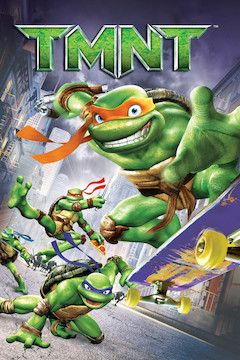 Poster for the movie TMNT