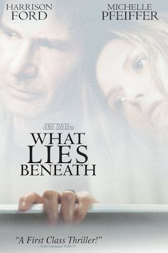 What Lies Beneath movie poster.