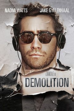 Demolition movie poster.