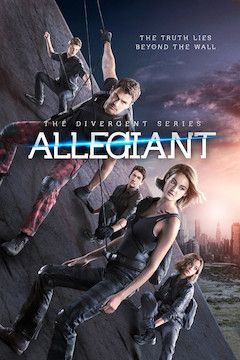 The Divergent Series: Allegiant movie poster.