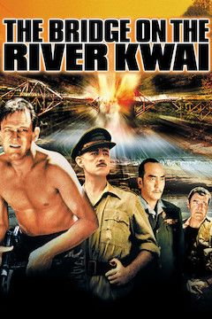The Bridge on the River Kwai movie poster.