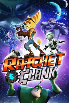 Ratchet and Clank movie poster.