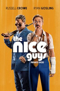 Poster for the movie The Nice Guys