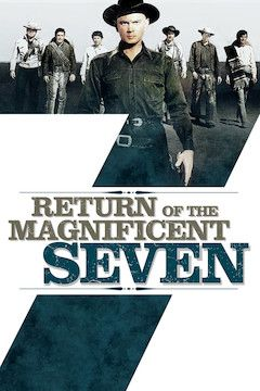 Return of the Seven movie poster.