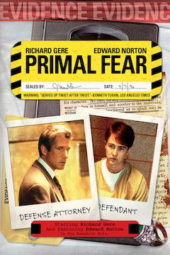 Primal Fear movie poster.