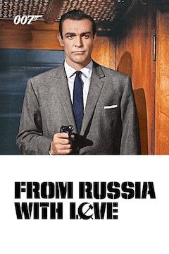 From Russia With Love movie poster.