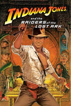 Raiders of the Lost Ark movie poster.