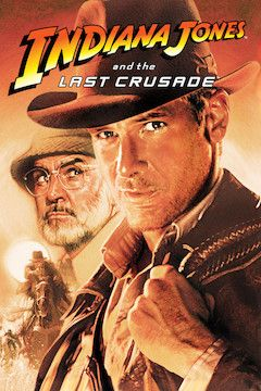 Indiana Jones and the Last Crusade movie poster.