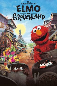 The Adventures of Elmo in Grouchland movie poster.