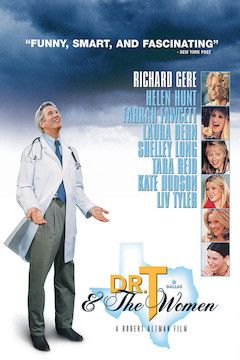 Dr. T and the Women movie poster.