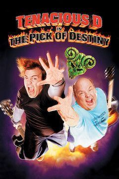 Tenacious D in The Pick of Destiny movie poster.