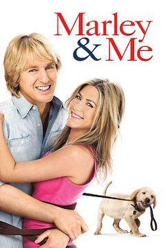 Marley and Me movie poster.