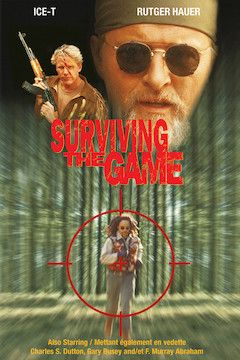 Surviving the Game movie poster.