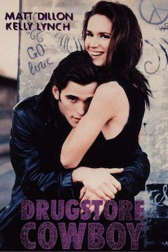 Drugstore Cowboy movie poster.