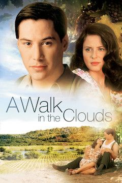 A Walk in the Clouds movie poster.