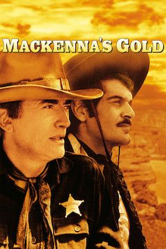 MacKenna's Gold movie poster.