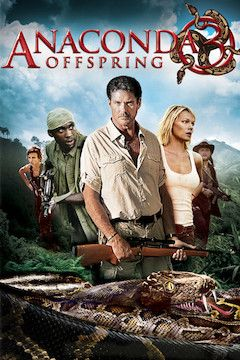 Anaconda 3: The Offspring movie poster.