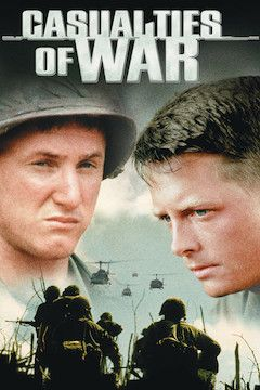 Casualties of War movie poster.