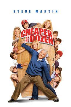 Cheaper by the Dozen movie poster.