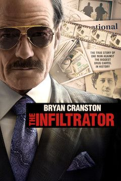 The Infiltrator movie poster.