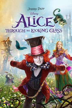 Alice Through the Looking Glass movie poster.