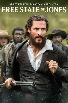 Free State of Jones movie poster.