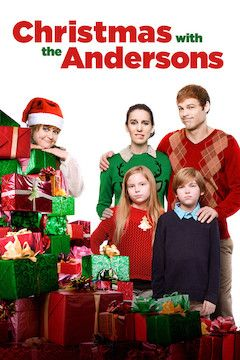 Christmas With the Andersons movie poster.