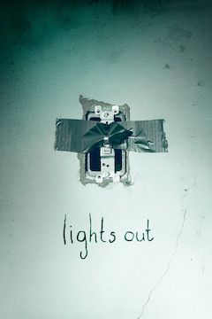 Lights Out movie poster.