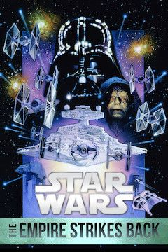 Star Wars: Episode V - The Empire Strikes Back movie poster.