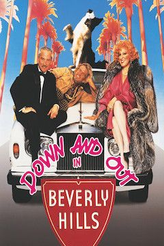 Down and Out in Beverly Hills movie poster.