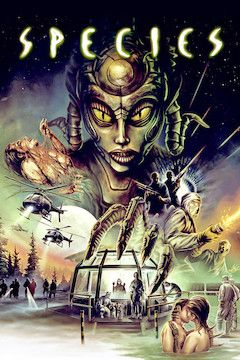 Poster for the movie Species