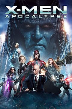 X-Men: Apocalypse movie poster.