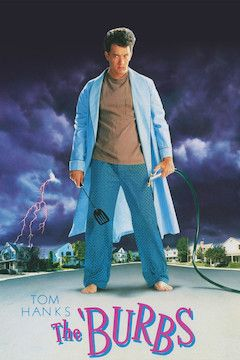 Poster for the movie The 'Burbs