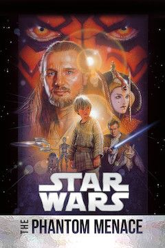 Poster for the movie Star Wars: Episode I - The Phantom Menace