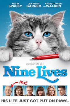 Nine Lives movie poster.