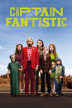Captain Fantastic movie poster.