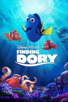 Finding Dory movie poster.