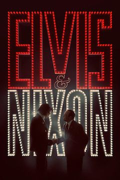 Elvis and Nixon movie poster.