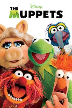 The Muppets movie poster.