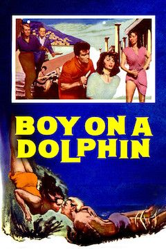 Boy on a Dolphin movie poster.