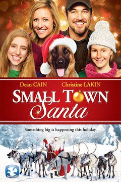 Small Town Santa movie poster.
