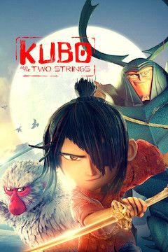 Kubo and the Two Strings movie poster.