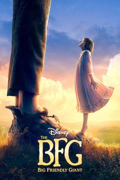 Poster for the movie The BFG