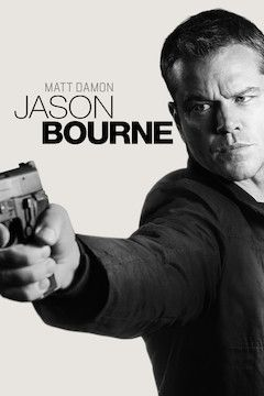 Jason Bourne movie poster.