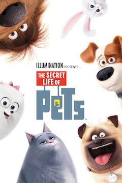 Poster for the movie The Secret Life of Pets