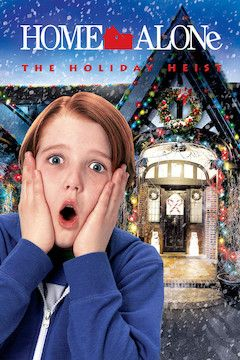 Home Alone: The Holiday Heist movie poster.