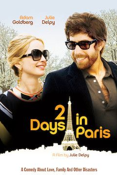 2 Days in Paris movie poster.