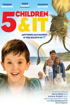 5 Children and It movie poster.